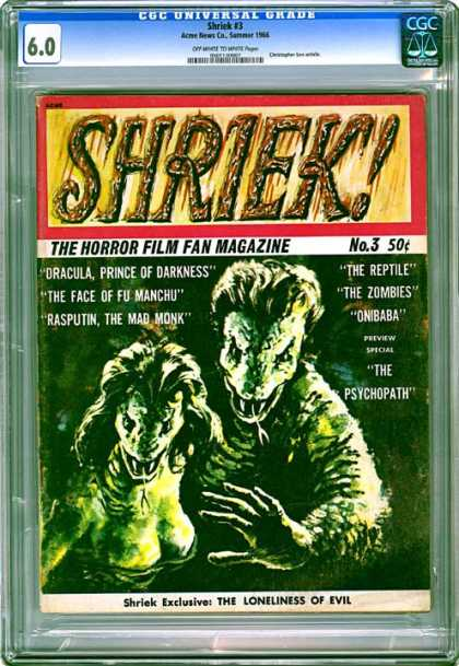 CGC Graded Comics - Shriek #3 (CGC)
