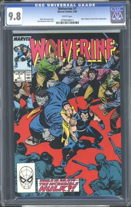 CGC Graded Comics - Wolverine #7 (CGC)