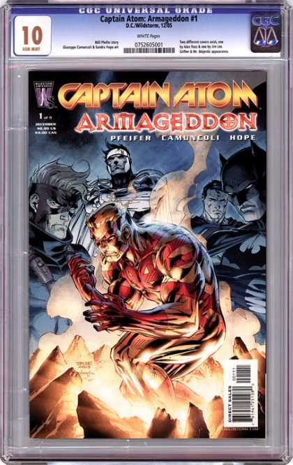 CGC Graded Comics - Captain Atom: Armageddon #1 (CGC)