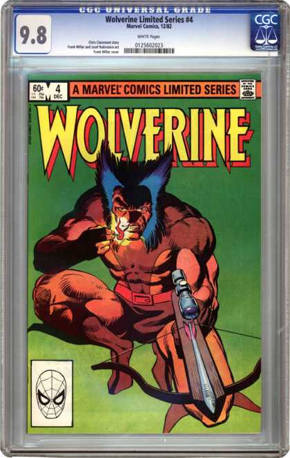 CGC Graded Comics - Wolverine Limited Series #4 (CGC)
