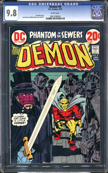 CGC Graded Comics - Demon #8 (CGC)