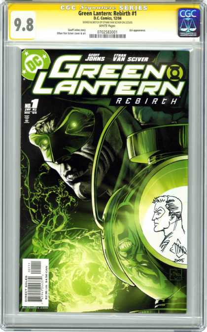 CGC Graded Comics - Green Lantern: Rebirth #1 (CGC)