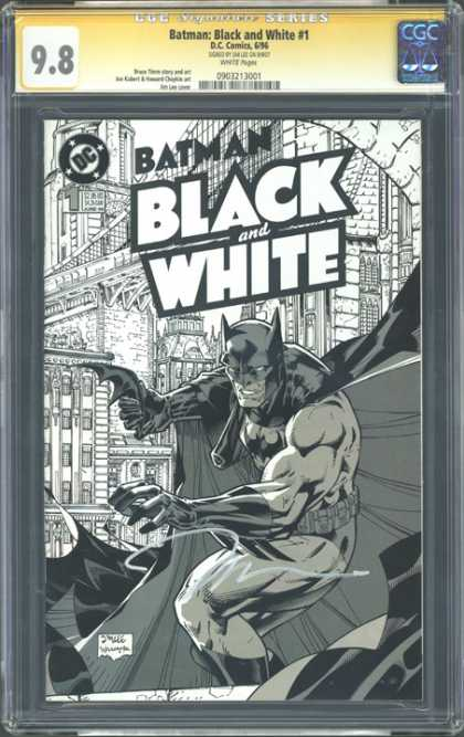 CGC Graded Comics - Batman: Black and White #1 (CGC)