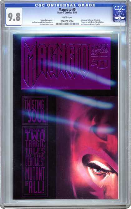 CGC Graded Comics - Magneto #0 (CGC) - Magneto - Twisting Soul - Two Tragic Tales - Eye - Deadliest Mutant Of All