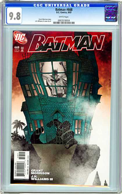 CGC Graded Comics - Batman #668 (CGC)