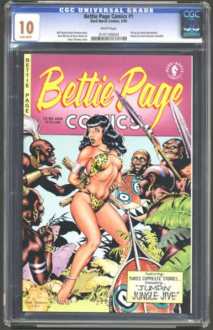 CGC Graded Comics - Bettie Page Comics #1 (CGC)