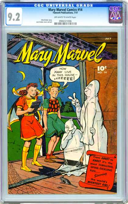 CGC Graded Comics - Mary Marvel Comics #14 (CGC)