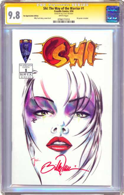 CGC Graded Comics - Shi: The Way of the Warrior #1 (CGC)