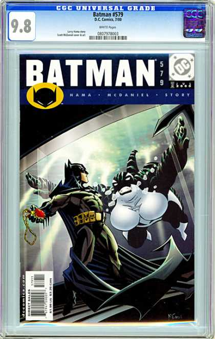CGC Graded Comics - Batman #579 (CGC)