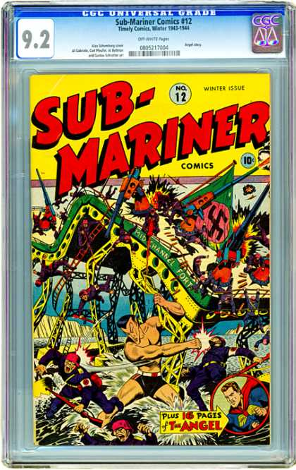 CGC Graded Comics - Sub-Mariner Comics #12 (CGC)