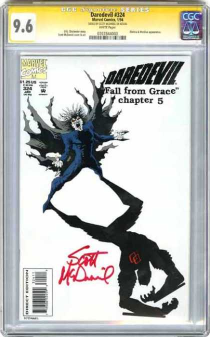 CGC Graded Comics - Daredevil #324 (CGC)