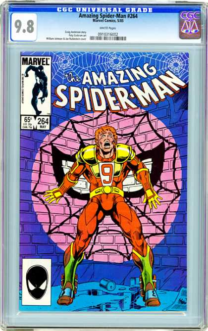CGC Graded Comics - Amazing Spider-Man #264 (CGC)