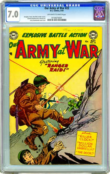 CGC Graded Comics - Our Army at War #22 (CGC)