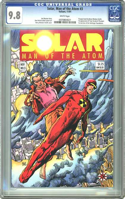 CGC Graded Comics - Solar, Man of the Atom #3 (CGC)