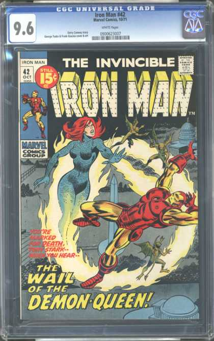 CGC Graded Comics - Iron Man #42 (CGC)
