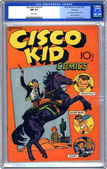 CGC Graded Comics - Cisco Kid Comics #1 (CGC)