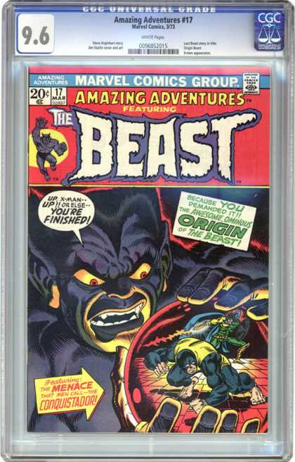 CGC Graded Comics - Amazing Adventures #17 (CGC)