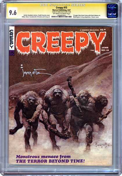 CGC Graded Comics - Creepy #15 (CGC) - Creepy - June No 19 - Creepy 15 - From The Terror Beyond Time - Monstrous Menace