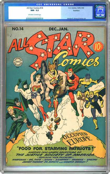 CGC Graded Comics - All Star Comics #14 (CGC)