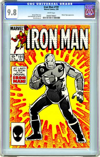 CGC Graded Comics - Iron Man #191 (CGC)