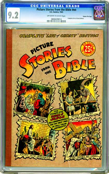 CGC Graded Comics - Picture Stories from the Bible #nn (CGC)