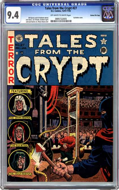 CGC Graded Comics - Tales from the Crypt #27 (CGC)