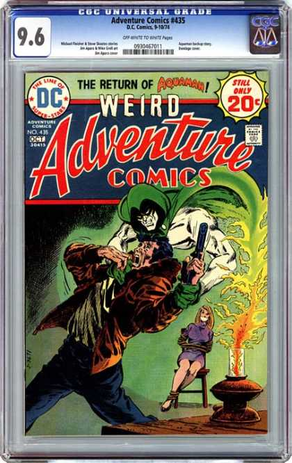 CGC Graded Comics - Adventure Comics #435 (CGC)