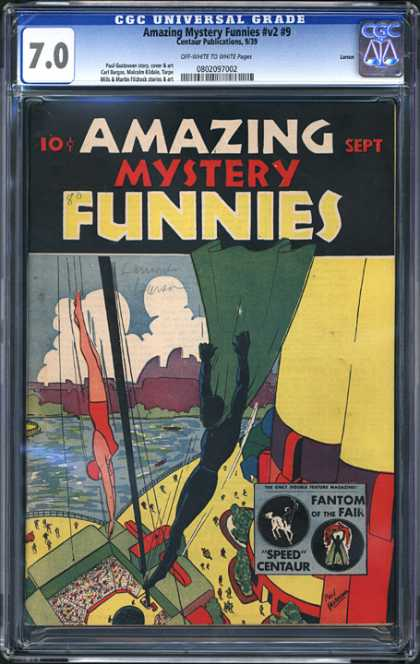 CGC Graded Comics - Amazing Mystery Funnies #v2 #9 (CGC)