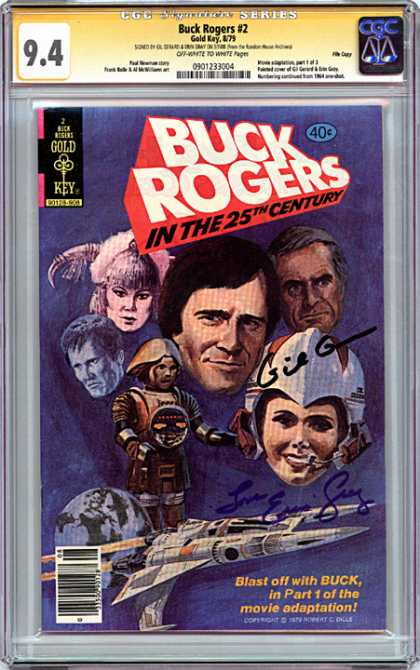 CGC Graded Comics - Buck Rogers #2 (CGC)
