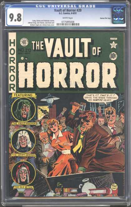 CGC Graded Comics - Vault of Horror #20 (CGC)