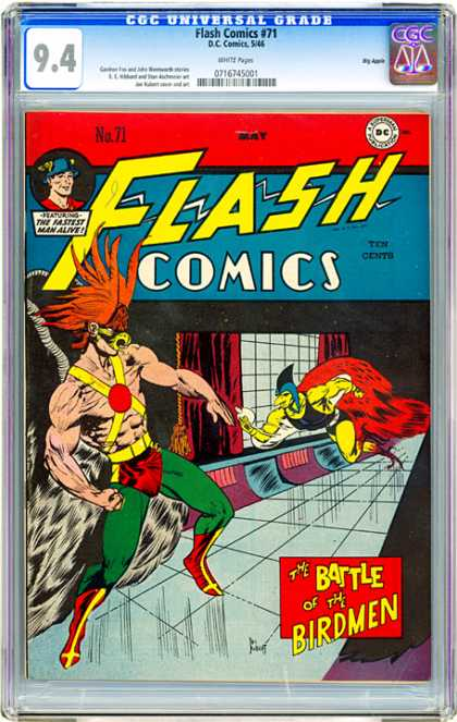 CGC Graded Comics - Flash Comics #71 (CGC)