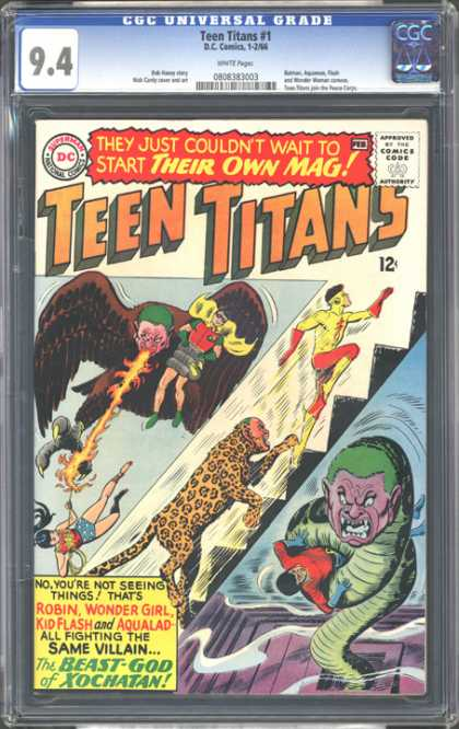 CGC Graded Comics - Teen Titans #1 (CGC)