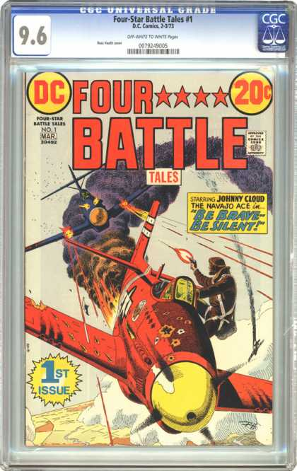 CGC Graded Comics - Four-Star Battle Tales #1 (CGC)