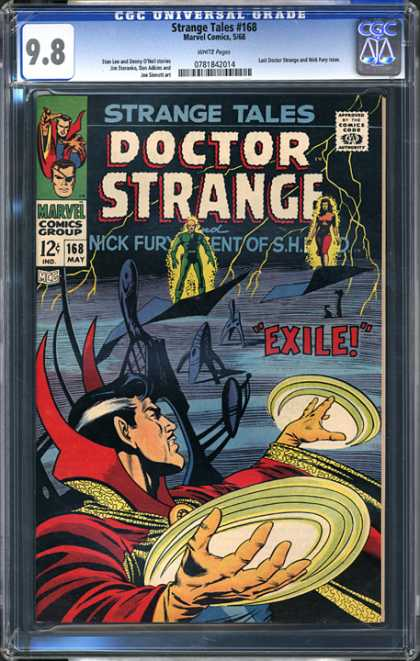 CGC Graded Comics - Strange Tales #168 (CGC)