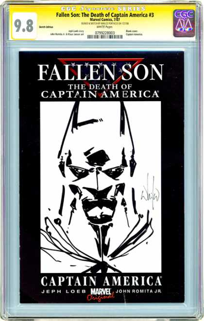 CGC Graded Comics - Fallen Son: The Death of Captain America #3 (CGC) - Fallen - Son - Death - Captain - America