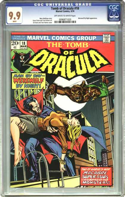 CGC Graded Comics - Tomb of Dracula #18 (CGC)