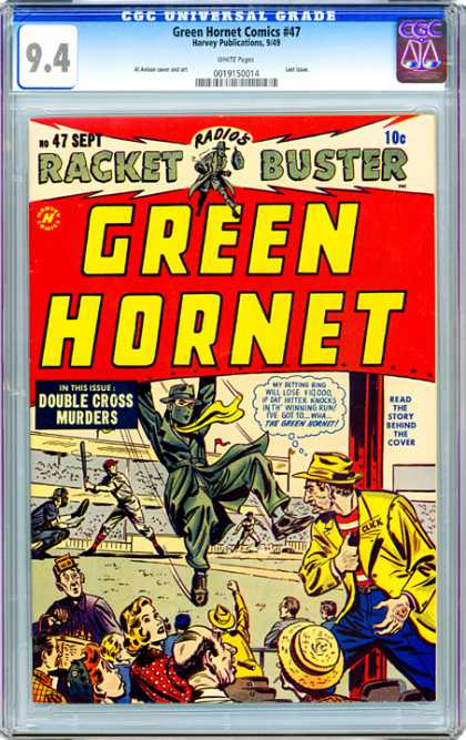 CGC Graded Comics - Green Hornet Comics #47 (CGC)
