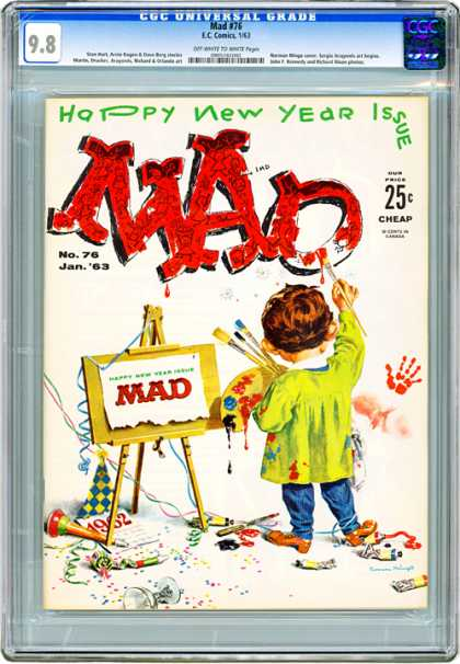 CGC Graded Comics - Mad #76 (CGC)