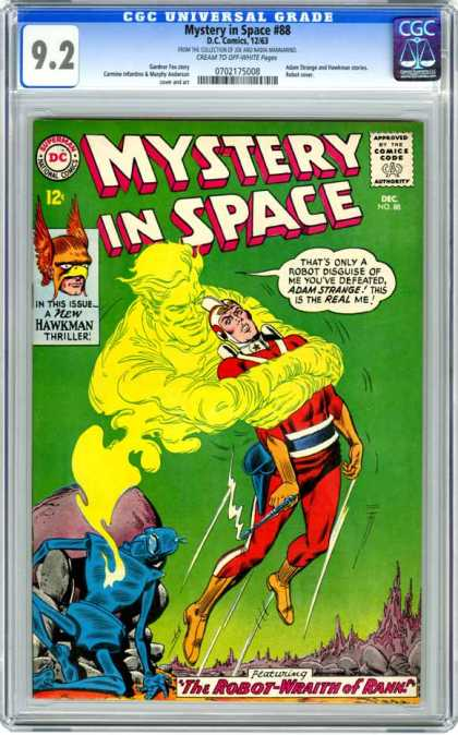 CGC Graded Comics - Mystery in Space #88 (CGC) - Mystery In Space - Approved By The Comics Code Authority - The Robot - Superman - National Comics