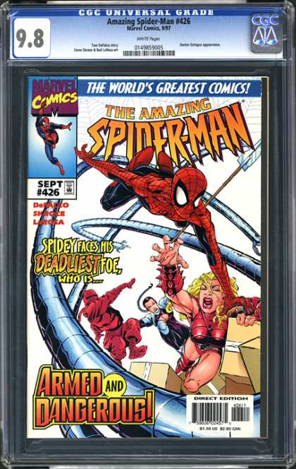 CGC Graded Comics - Amazing Spider-Man #426 (CGC)