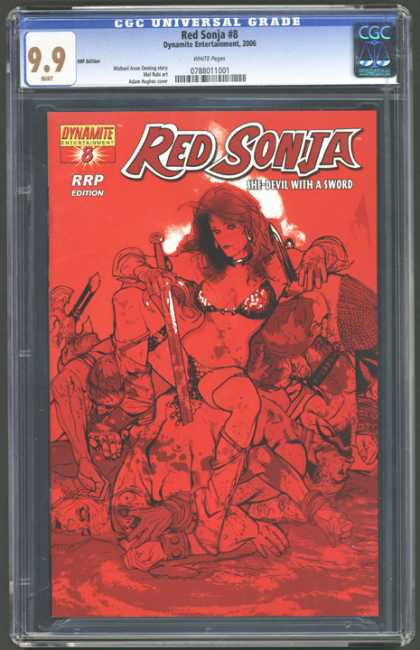 CGC Graded Comics - Red Sonja #8 (CGC) - Cgc - Cgc Comics - Red Sonja - Devil