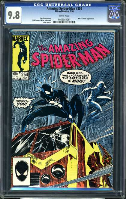 CGC Graded Comics - Amazing Spider-Man #254 (CGC)
