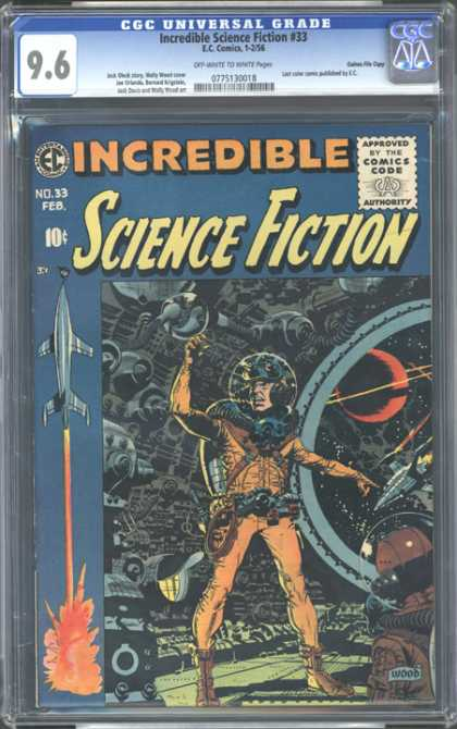 CGC Graded Comics - Incredible Science Fiction #33 (CGC)