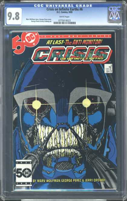 CGC Graded Comics - Crisis on Infinite Earths #6 (CGC)