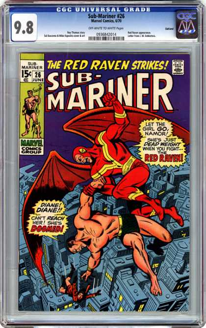 CGC Graded Comics - Sub-Mariner #26 (CGC)