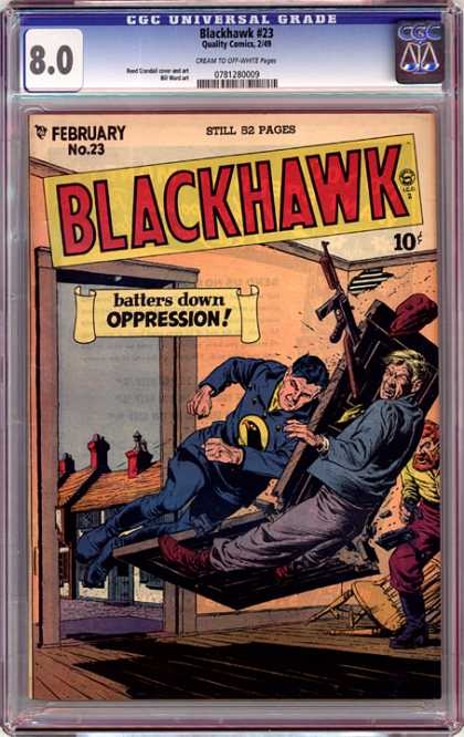 CGC Graded Comics - Blackhawk #23 (CGC)