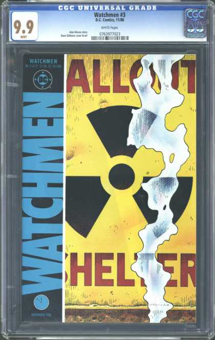 CGC Graded Comics - Watchmen #3 (CGC)