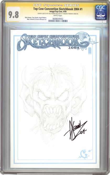 CGC Graded Comics - Top Cow Convention Sketchbook 2004 #1 (CGC)