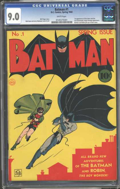 CGC Graded Comics - Batman #1 (CGC)