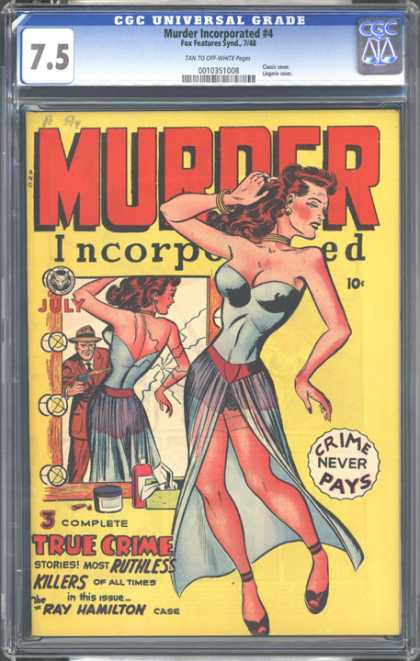 CGC Graded Comics - Murder Incorporated #4 (CGC)